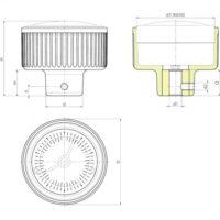 Маховики управления с индикатором K150 фото 2