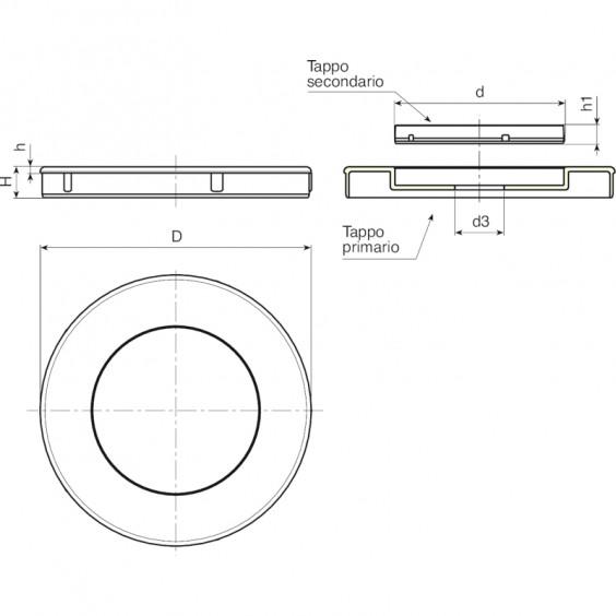 Маховики управления с индикатором K500 фото 2