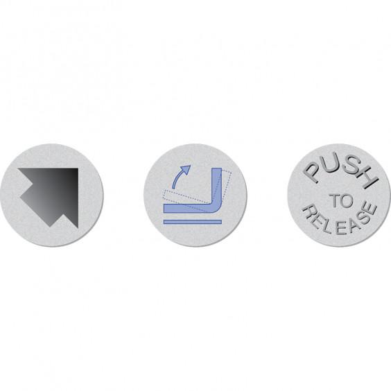 Маховики управления с индикатором K500 фото 3