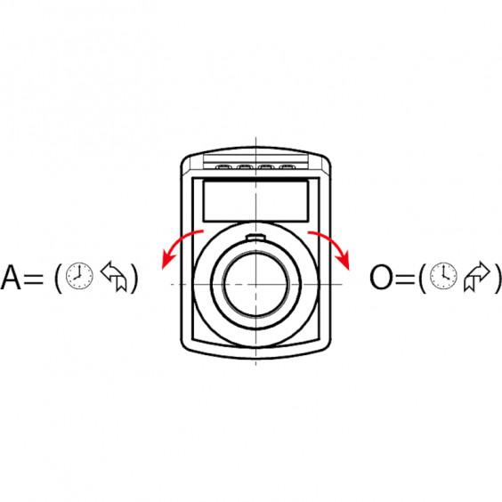 Маховики управления с индикатором K600 фото 10