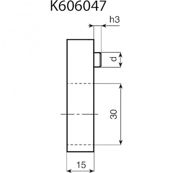 Маховики управления с индикатором K610 фото 12