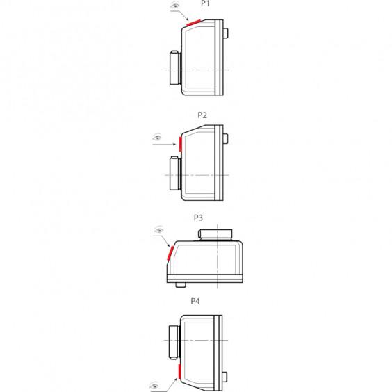 Маховики управления с индикатором K610 фото 9