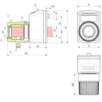 Маховики управления с индикатором K617 фото 2