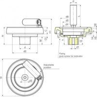 Маховики управления с индикатором K904 фото 2