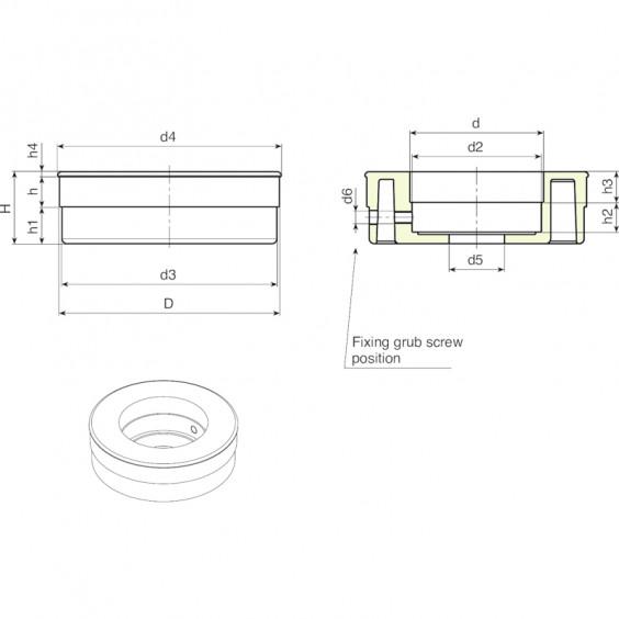 Маховики управления с индикатором KS фото 2