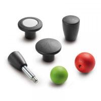 Ручки сферические и грибовидные