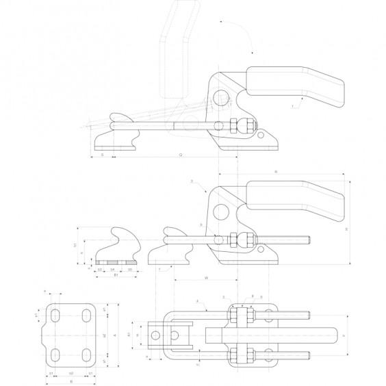 Запирающие устройства J260 фото 2