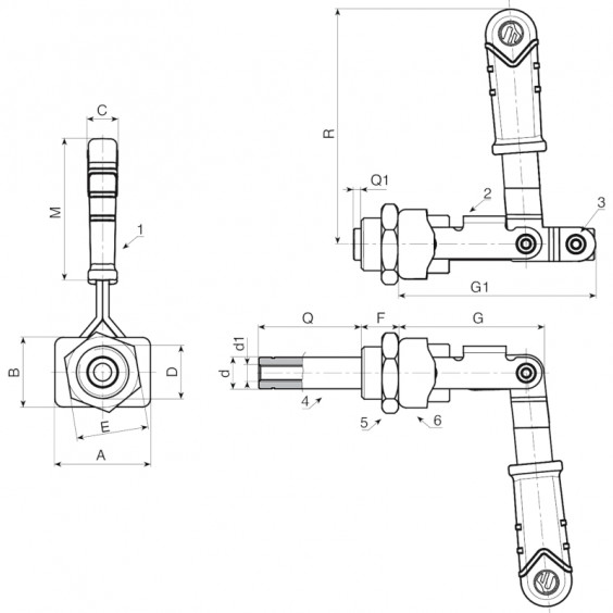 Запирающие устройства J295 фото 2