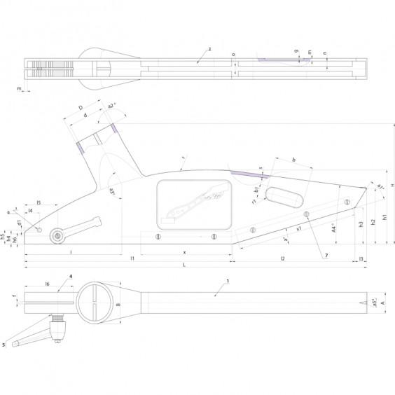 Комплектующие для машин и оборудования T556 фото 2
