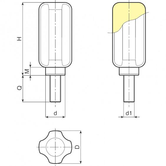 Ручки управления N776 фото 2