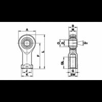 Наконечники Шарнирные наконечники автоматического выравнивания MF фото 2