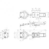 Запирающие устройства J188 фото 2